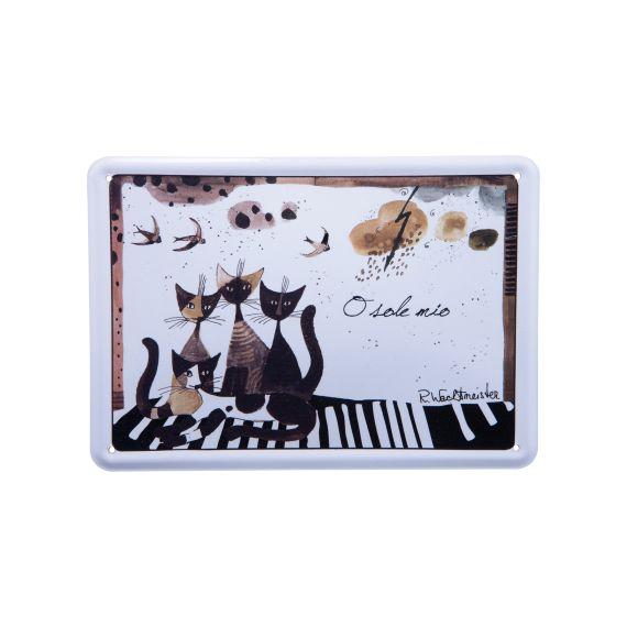 Produktbild von O sole mio - Metallschild im Postkartenformat