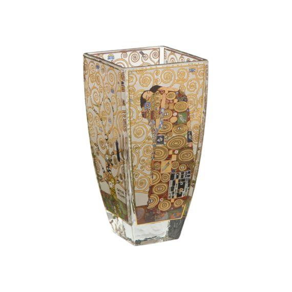 Produktbild von Die Erfüllung - Vase Glas 16 cm Artis Orbis Gustav Klimt