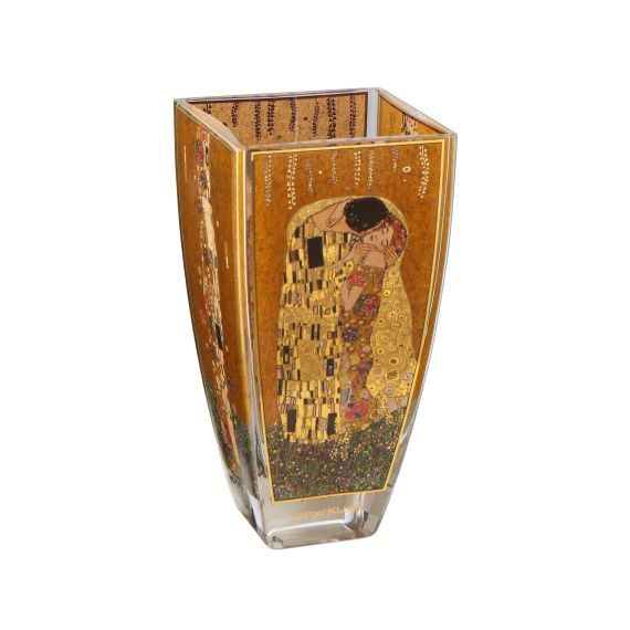 Produktbild von Der Kuss – Vase Glas 16 cm Artis Orbis Gustav Klimt