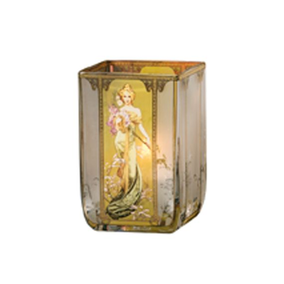 Produktbild von Frühling 1900 - Teelicht Artis Orbis Alphonse Mucha