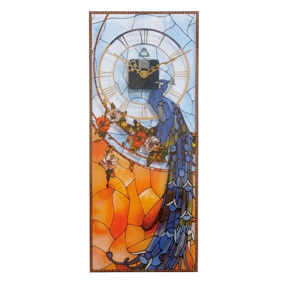 Produktbild von Pfau - Wanduhr Artis Orbis Louis Comfort Tiffany