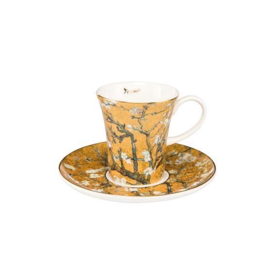 Produktbild von Mandelbaum Gold - Espressotasse Artis Orbis Vincent van Gogh