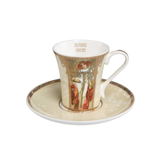 Produktbild von Herbst / Winter - Espressotasse Artis Orbis Alphonse Mucha