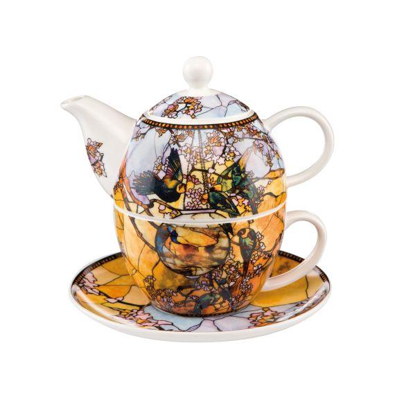 Produktbild von Sittiche - Tea For One Tee-Set Artis Orbis Louis Comfort Tiffany