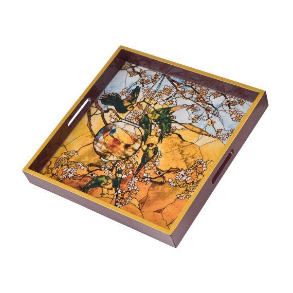 Produktbild von Sittiche - Tablett Artis Orbis Louis Comfort Tiffany