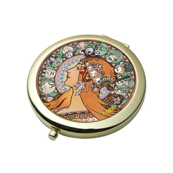 Produktbild von Sternzeichen - Taschenspiegel Artis Orbis Alphonse Mucha
