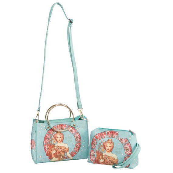 Produktbild von Frühling – Handtasche klein Artis Orbis Mucha