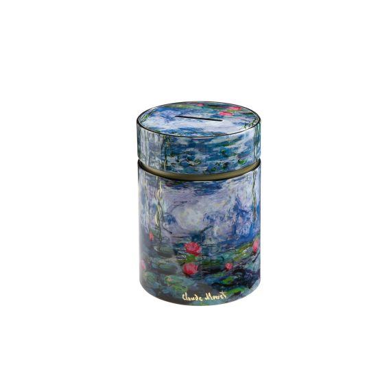 Produktbild von Seerosen am Abend - Spardose Artis Orbis Claude Monet