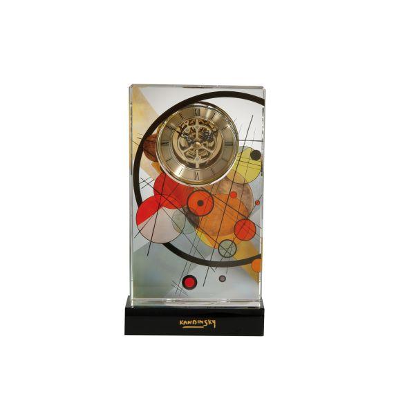 Produktbild von Kreise im Kreis - Tischuhr Artis Orbis Wassily Kandinsky