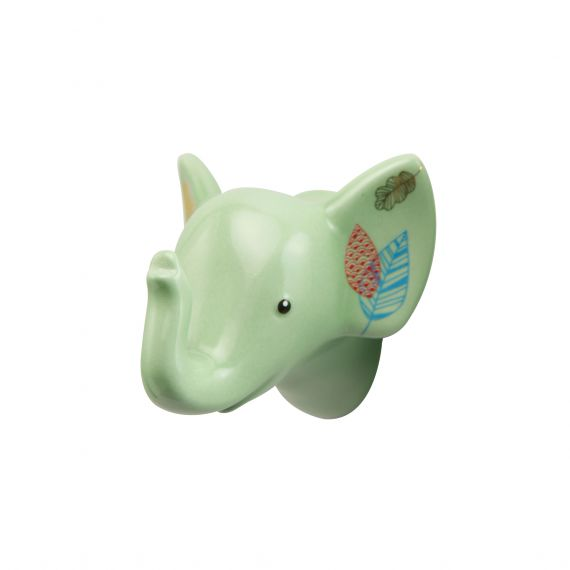 Produktbild von Jungle - Haken hellgrün 6,5 cm Elephant