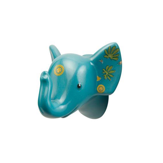 Produktbild von Jungle - Haken blau 6,5 cm Elephant