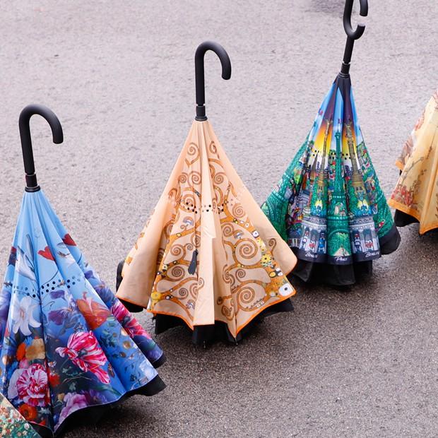 Upside-Down Schirme
