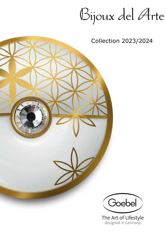Goebel Katalog Bijoux del arte 2020