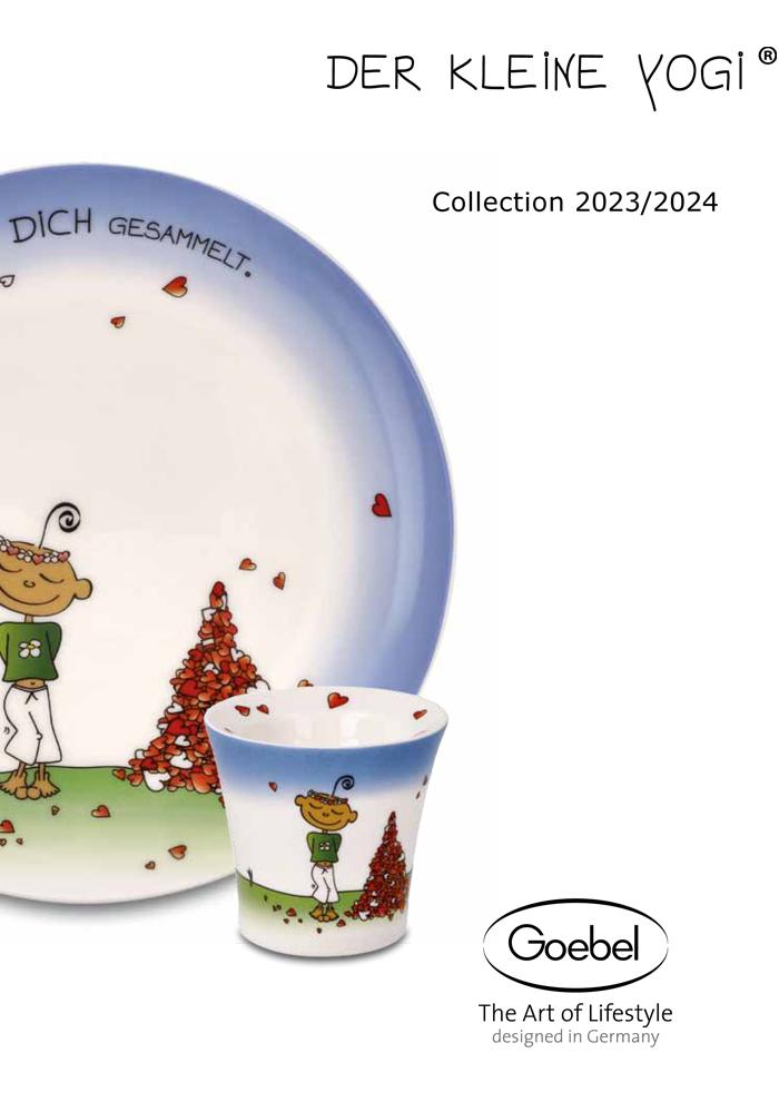 Goebel Katalog Der Kleine Yogi 2020