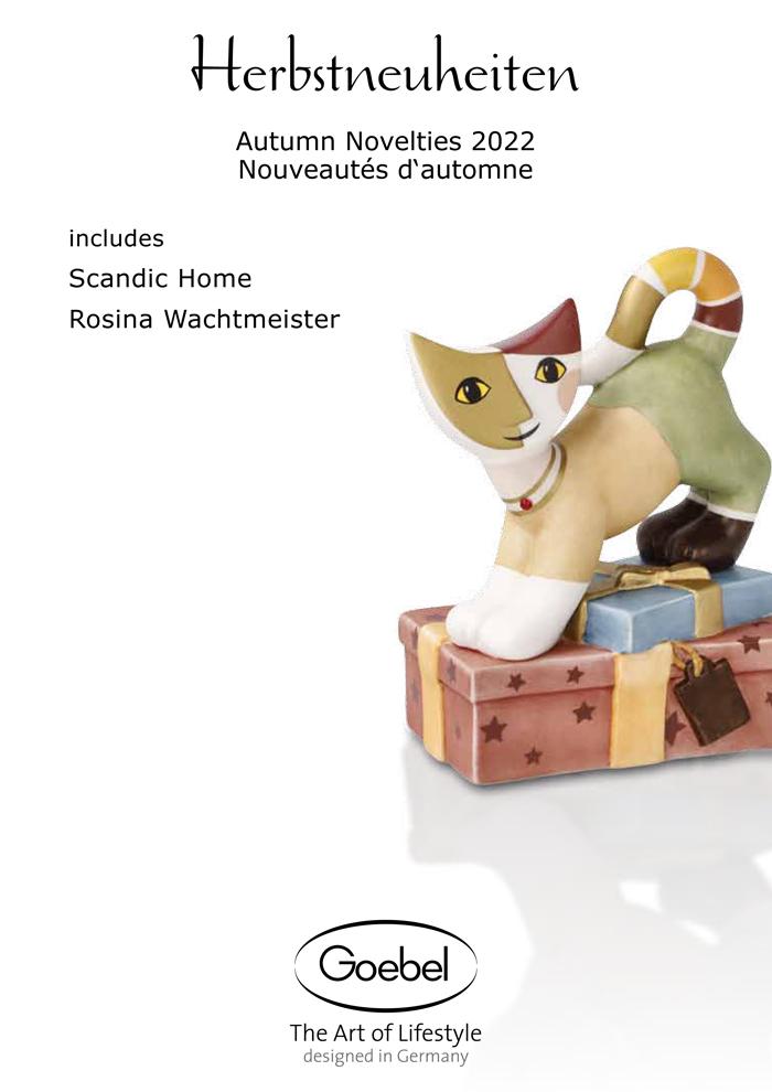 Goebel Katalog Herbstneuheiten 2020