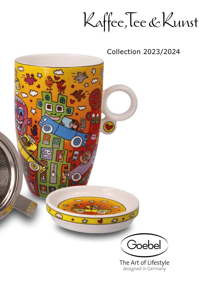 Goebel Katalog Kaffee Tee & Kunst 2020