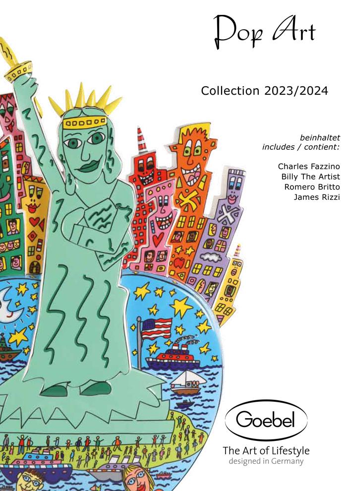 Goebel Katalog Pop Art 2020