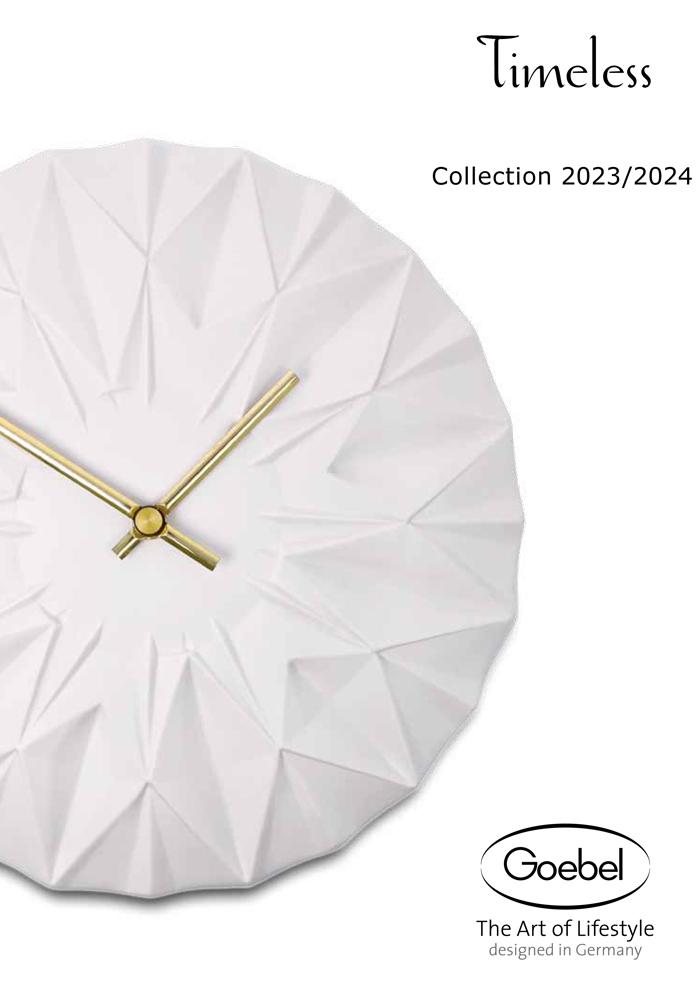 Goebel Katalog Timeless 2020