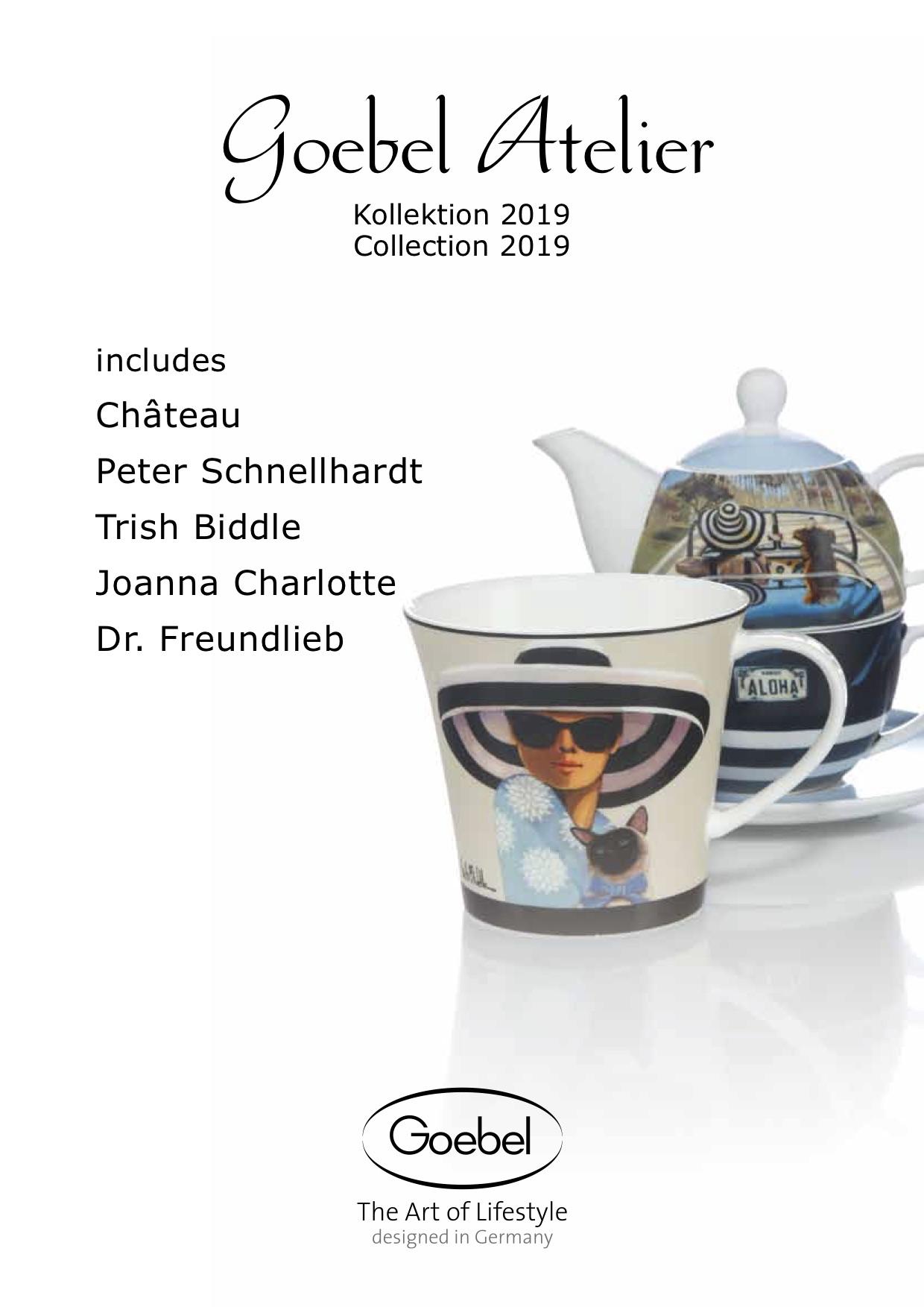 Goebel Katalog Atelier