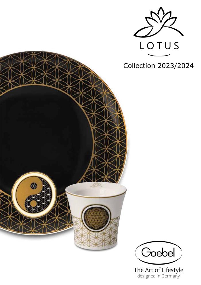 Goebel Katalog Lotus